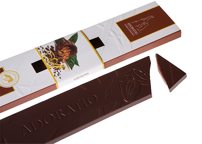 Sanftbitter Bio Schokolade