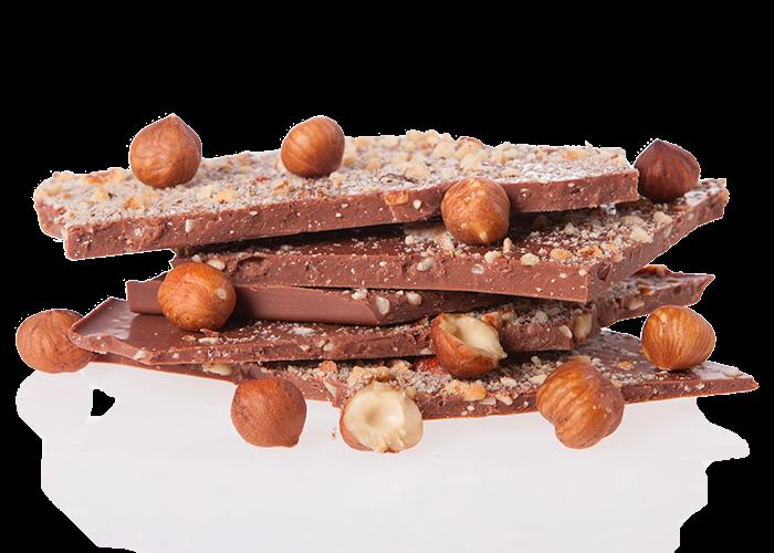 Vollmilch Haselnuss Bio Schokolade