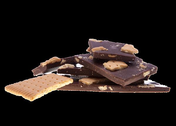 Weihnachtsschokolade Keks & Zimt - Bioschokolade Feinbitter - saisonal -