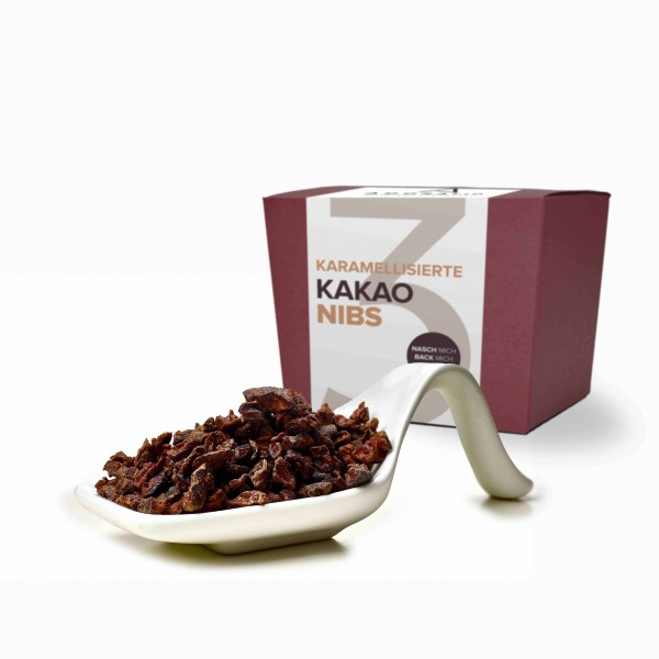 Bio Kakaonibs karamelisiert