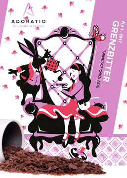 Grenzbitter pur Bio Trinkschokolade