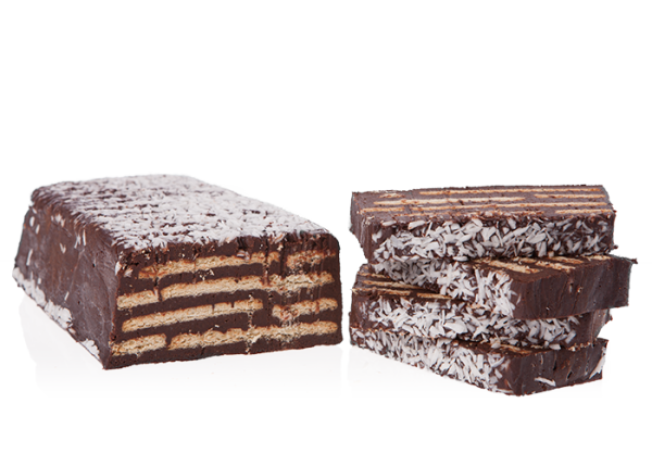 Kalter Hund - Adoratio Schokoladen-Kuchen mit Keks