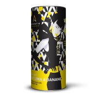Lucuma & Banane Bio-Trinkschokolade Grenzbitter mit Superfood
