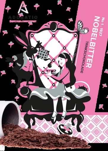 Nobelbitter Bio Trinkschokolade