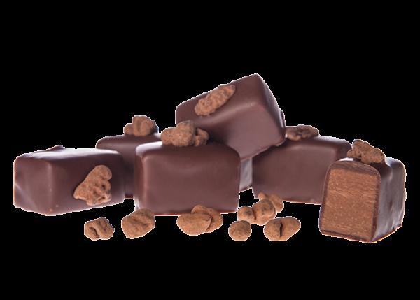 Knuspernougat-Riegel Bioschokolade Vollmilch