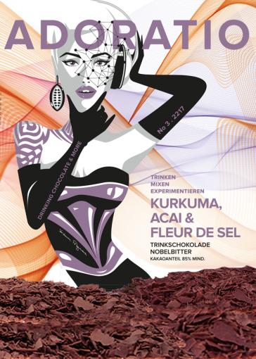 Kurkuma, Acai & Fleur de Sel Trinkschokolade Nobel