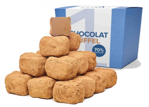 Chocolattrüffel Bioschokolade Edelbitter
