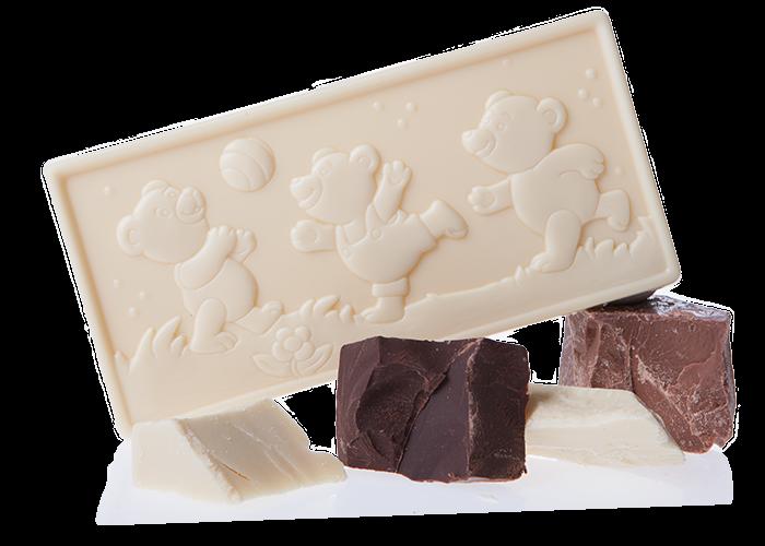 Bärchenbande Edelbitter Bio Schokolade