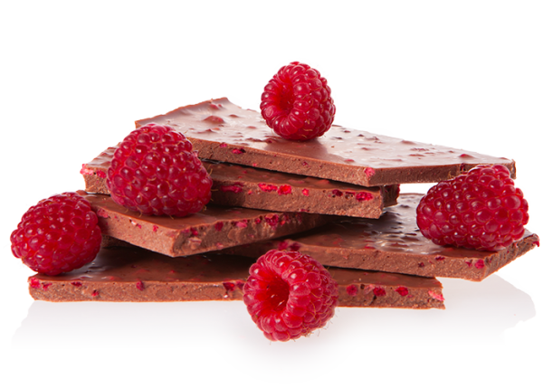 Vollmilch Himbeere - Bioschokolade