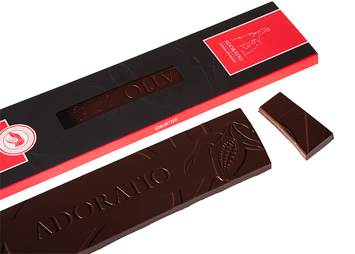 Edelbitter Bio Schokolade
