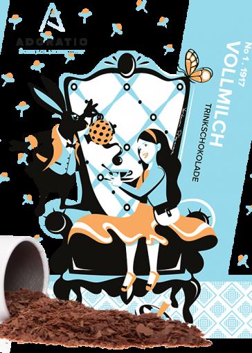 Vollmilch pur Bio Trinkschokolade