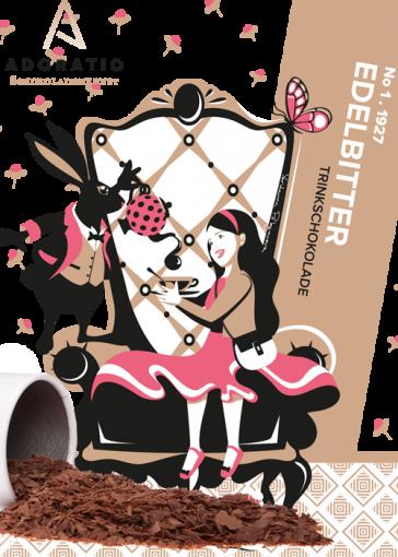 Edelbitter pur Bio Trinkschokolade