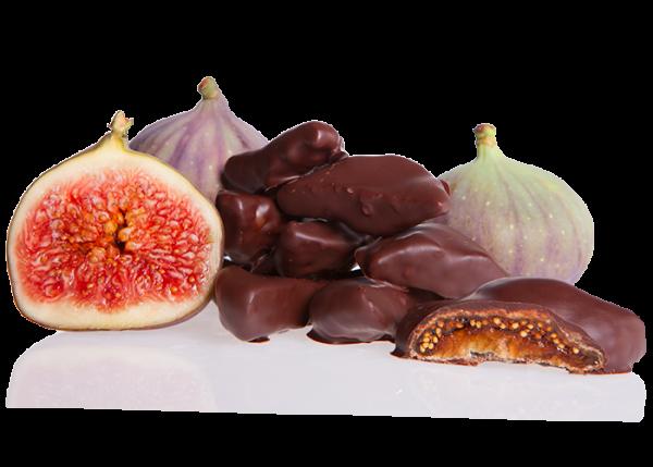 Feigen in Bioschokolade Edelbitter