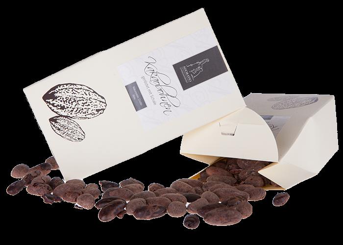 Bio Kakaobohnen geröstet mit Schale