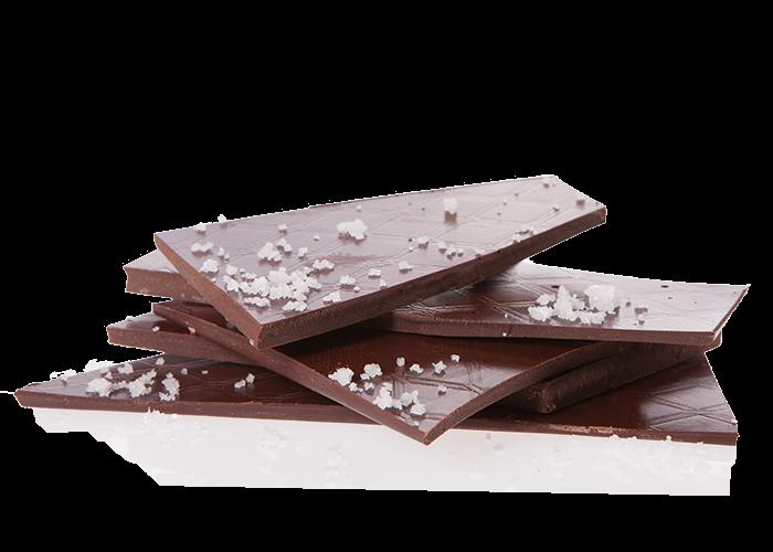 Edelbitter Fleur de Sel Bio Schokolade