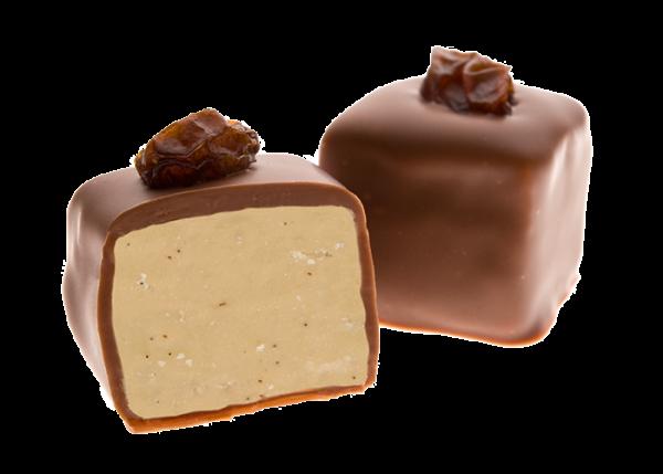 Vanille Trüffel in Bio Schokolade Vollmilch